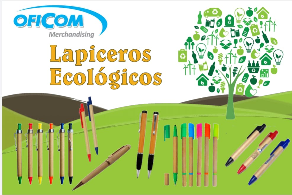 Lapiceros ecologicos